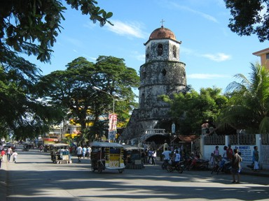 Dumaguete belltower by Mike Gonzalez