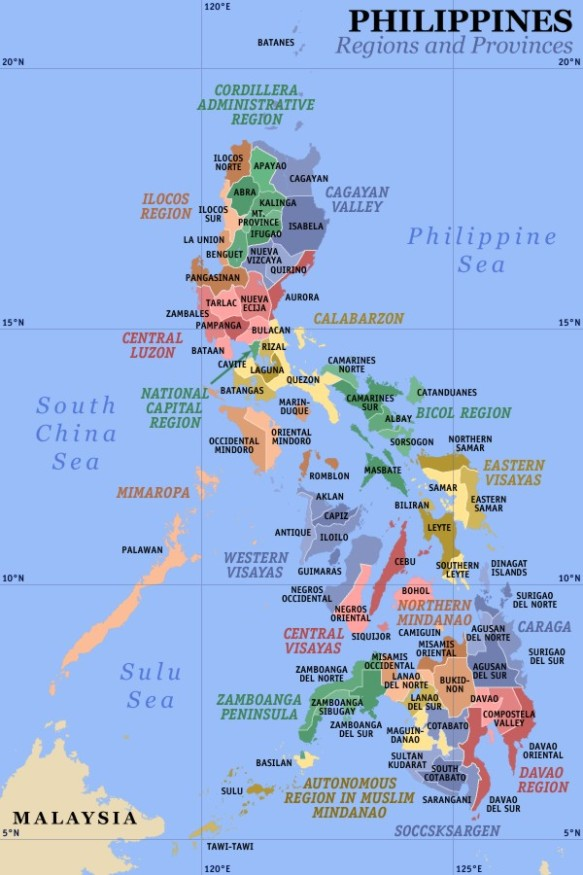Ph regions and provinces
