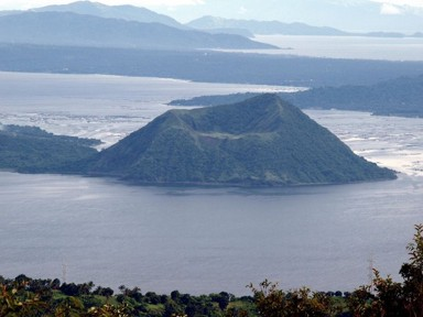 Taal Volcano, photo by Roberto Verzo