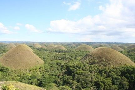 Chocolate Hills, photo by Jeroen Hellingman
